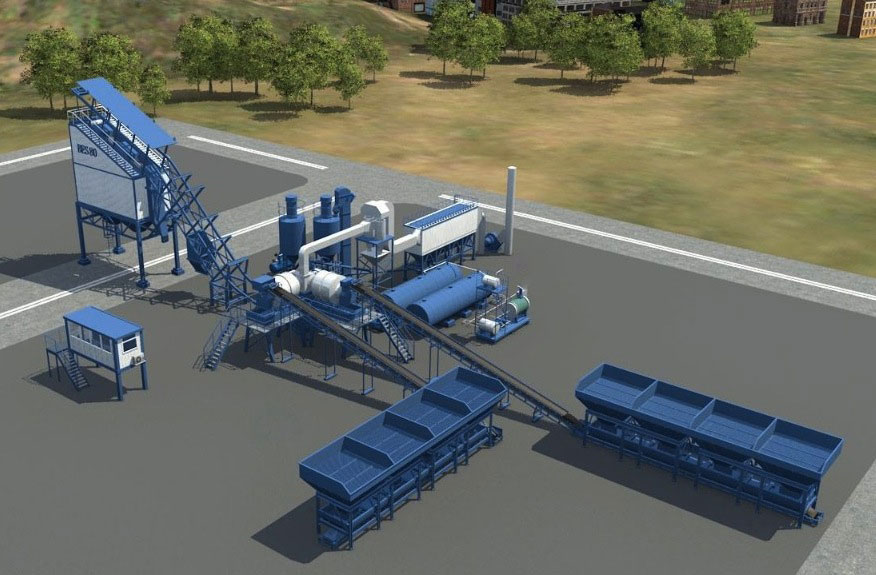 Berkshire Engineering asphalt plant