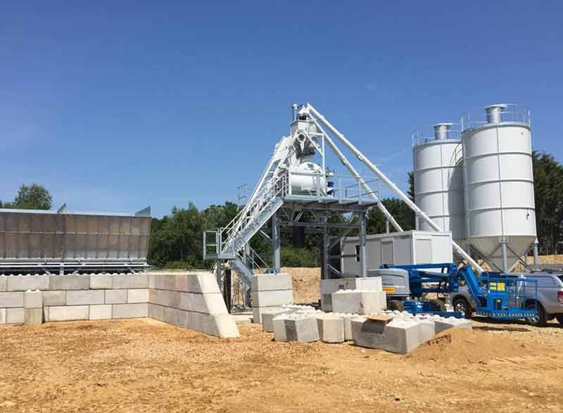 Cement Ready Mix Plant : Eastern concrete open new ready mix plant agg net