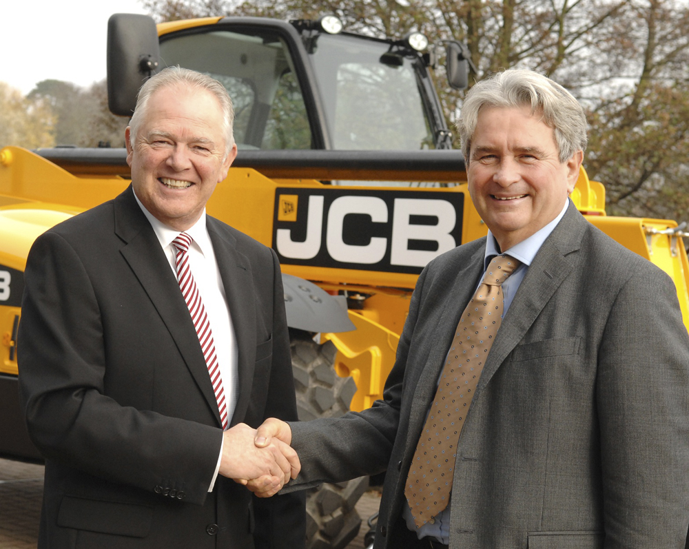 JCB and Magni Telescopic Handlers sign agreement