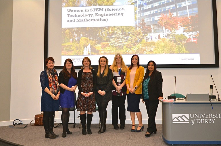University of Derby's 'Women in STEM'