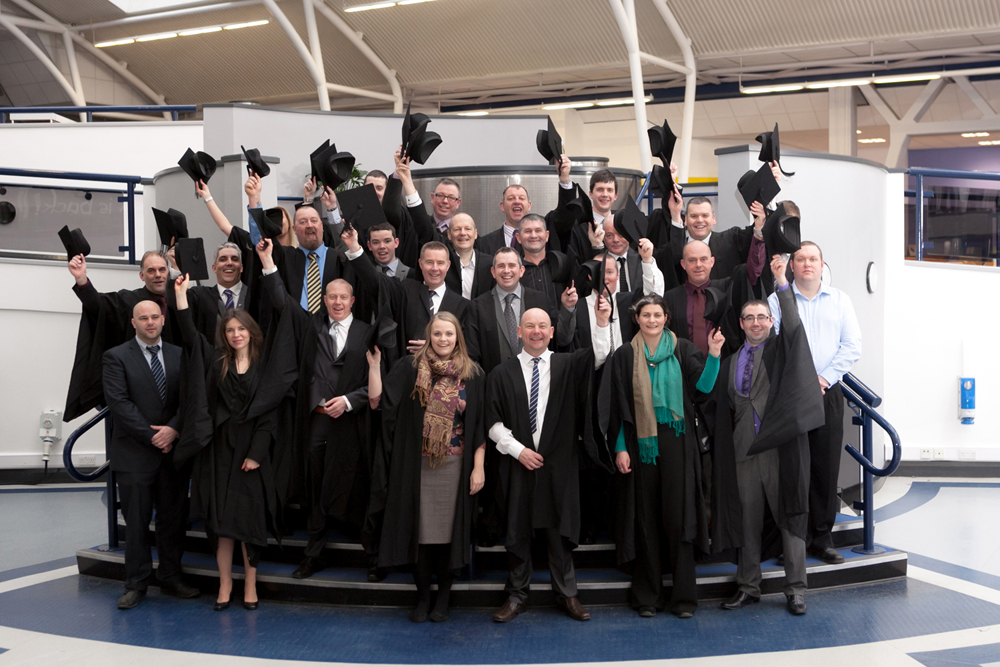 Graduation day for University of Derby Corporate students