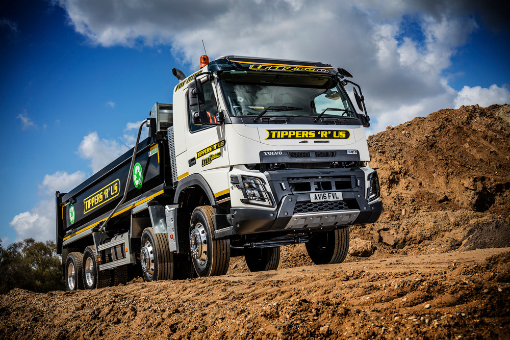 new volvo fmx trucks for tippers r us agg net. Black Bedroom Furniture Sets. Home Design Ideas