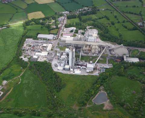 Padeswood cement works