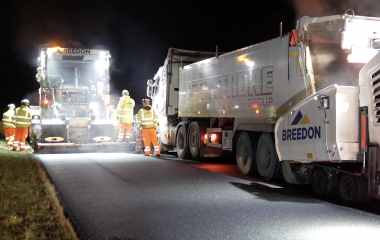 Resurfacing the A92