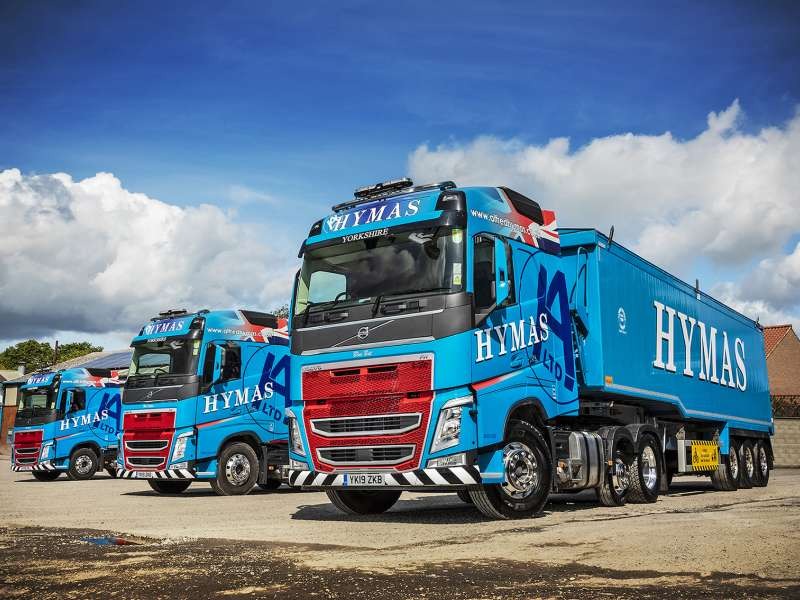 Volvo FH Lite Pusher Axle tractor units