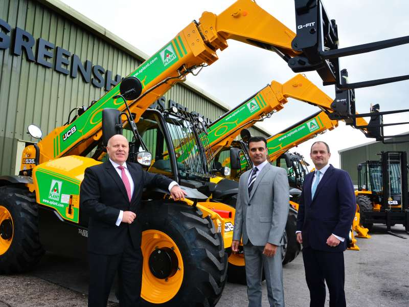 A-Plant and Greenshields JCB