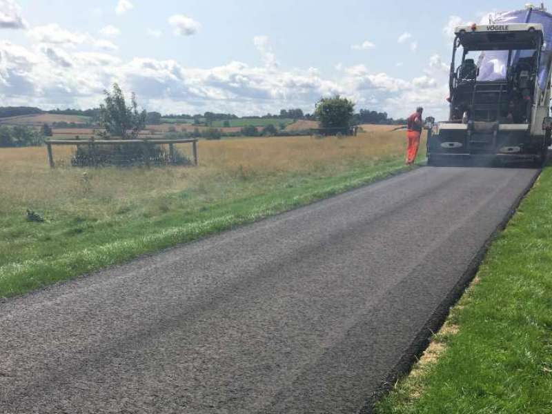 Super Protect hot-rolled asphalt surface course