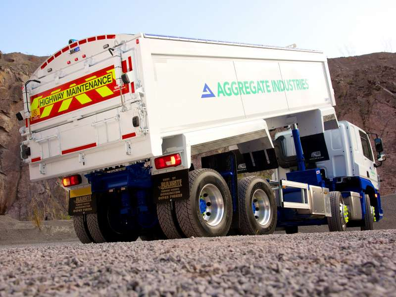 Aggregate Industries tipper truck