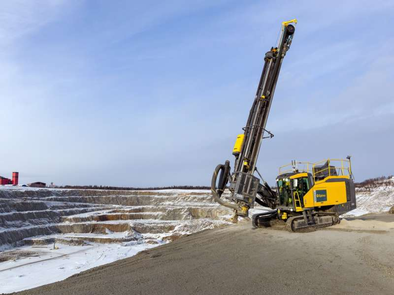 Epiroc SmartROC D65 surface drill rig