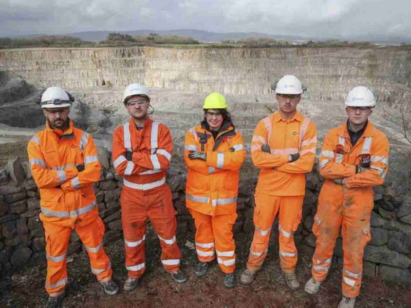 Tarmac apprentices