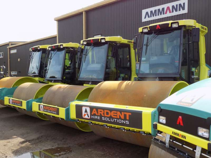 Ammann compaction machines
