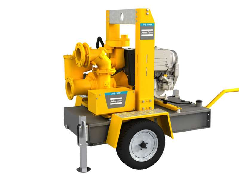 Atlas Copco pump