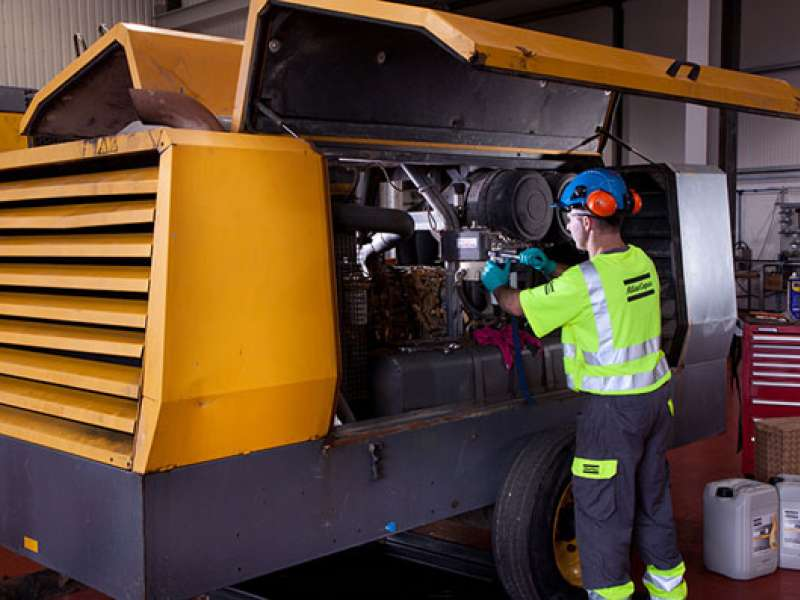 Atlas Copco separate Construction and Mining service divisions