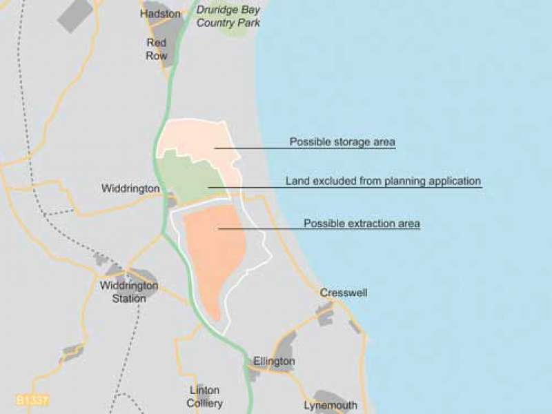 Revised plans for Highthorn surface mine
