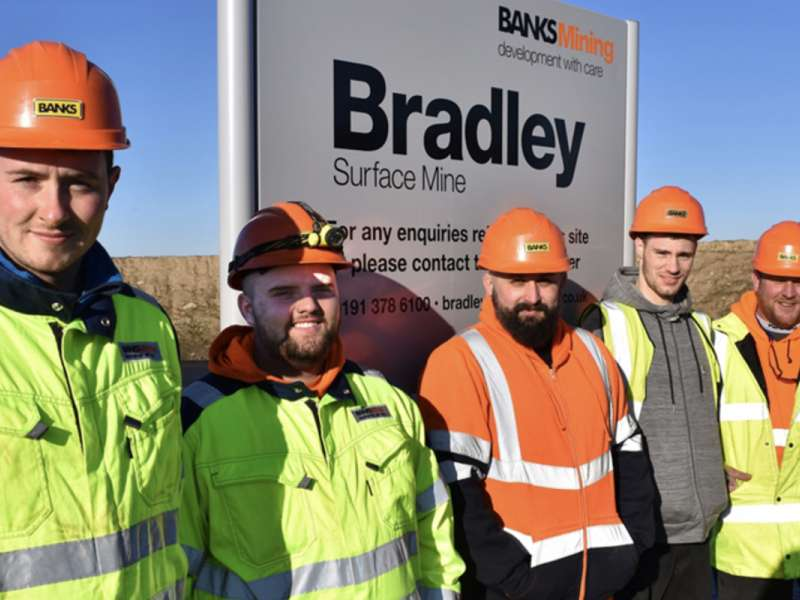 Banks Mining new recruits
