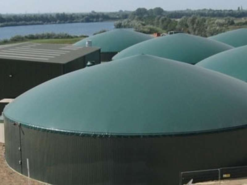 Anaerobic digestion plant
