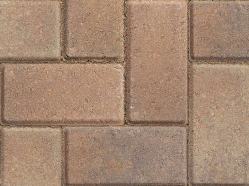 Concrete block paving