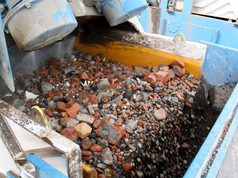 Recycled aggregates
