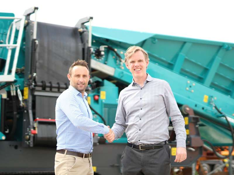 Blue Machinery Central expand Powerscreen and EvoQuip territory