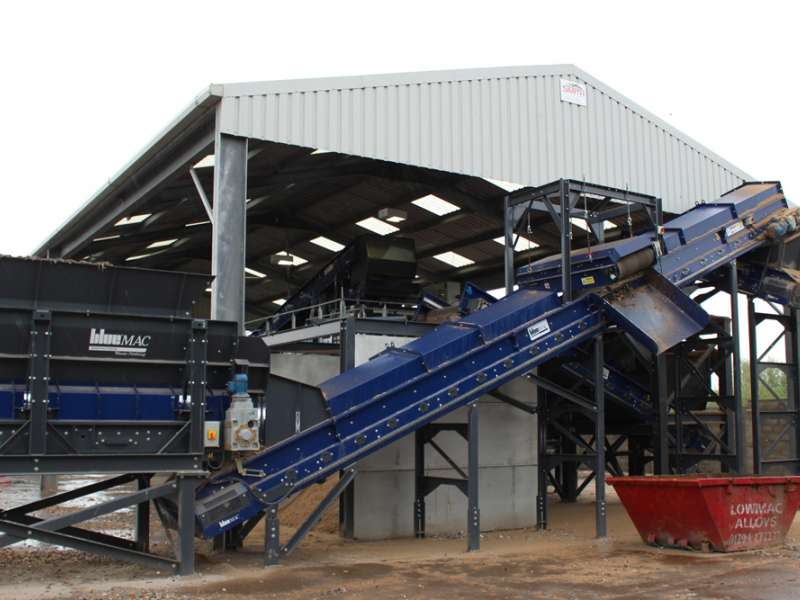 BlueMac waste processing plant