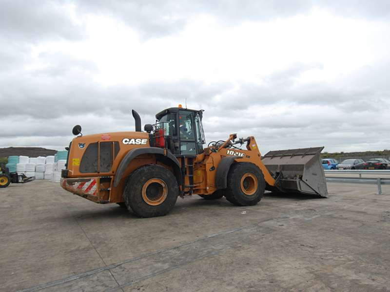 Case 1021 FXR wheel loader