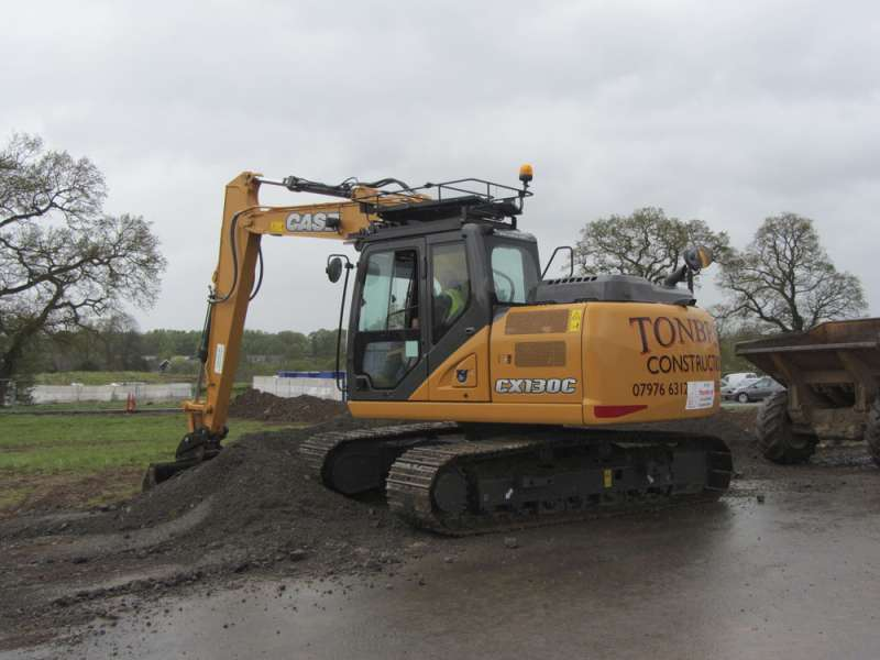 Case CX130C crawler excavator