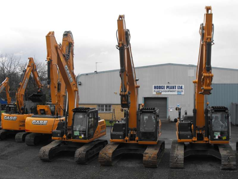 Hodge Plant appointed Case dealers in Scotland