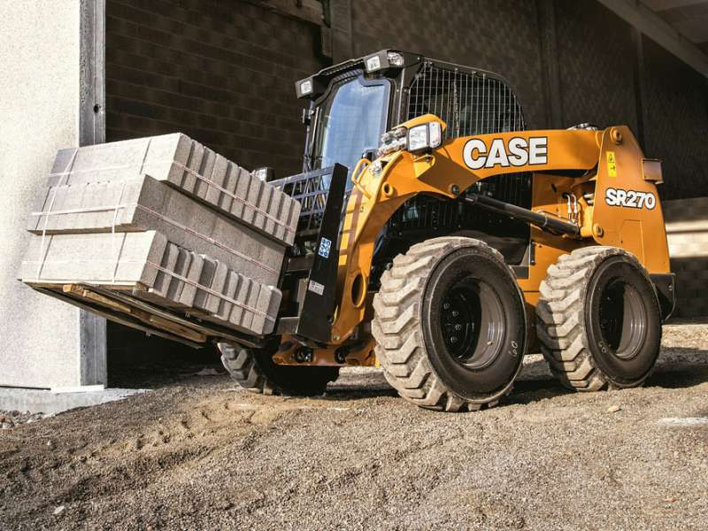 Case SR270 skid-steer loader
