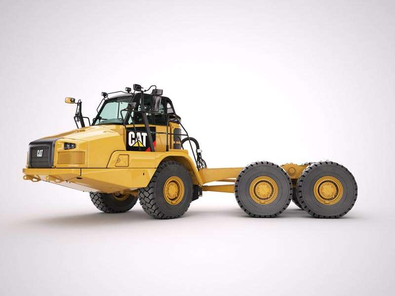 Cat 725C bare-chassis ADT