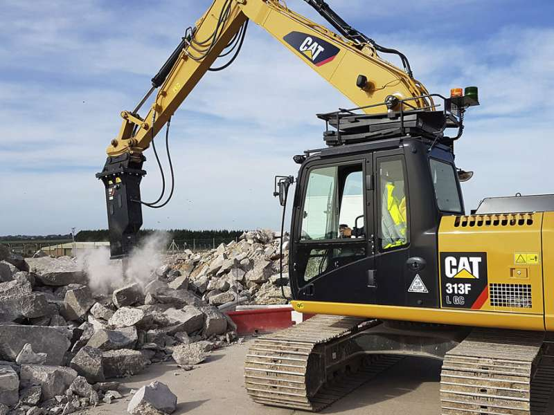 Cat GC S-Series hydraulic hammer