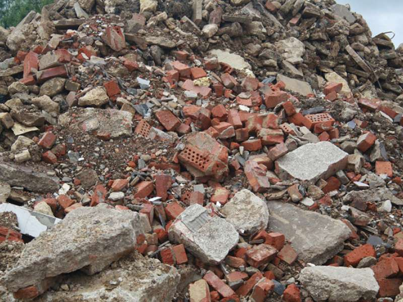 Construction, demolition and excavation waste