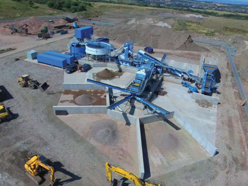 CDE waste recycling plant