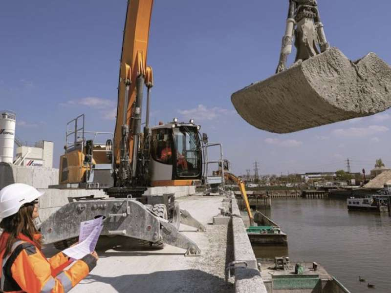 CEMEX's new Gennevilliers recycling plant