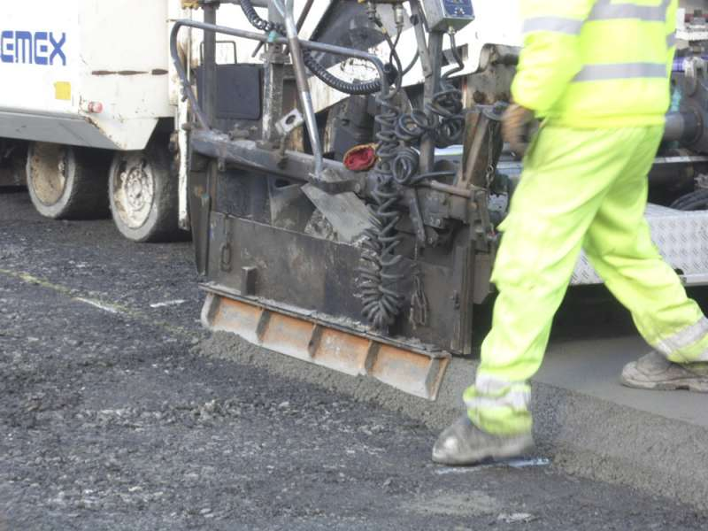 CEMEX roller-compacted concrete