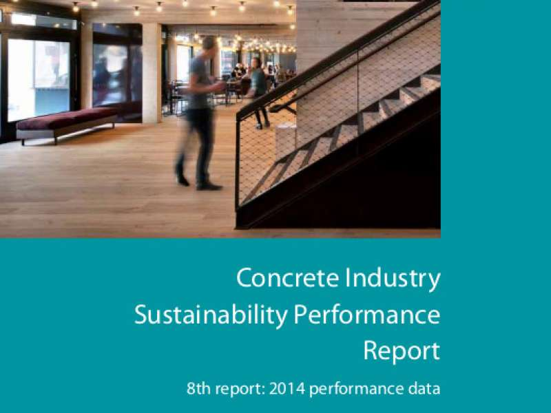 Concrete Industry Sustainability Performance Report