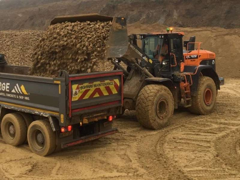 Doosan DL420-7 wheel loaders