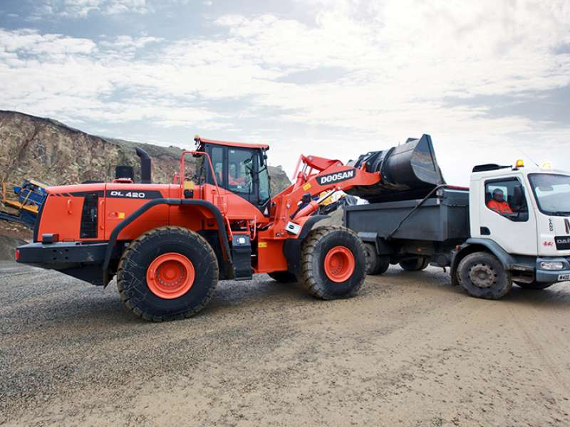 Doosan DL420-3 wheel loader