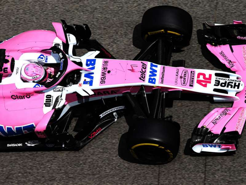 Sahara Force India grand prix car