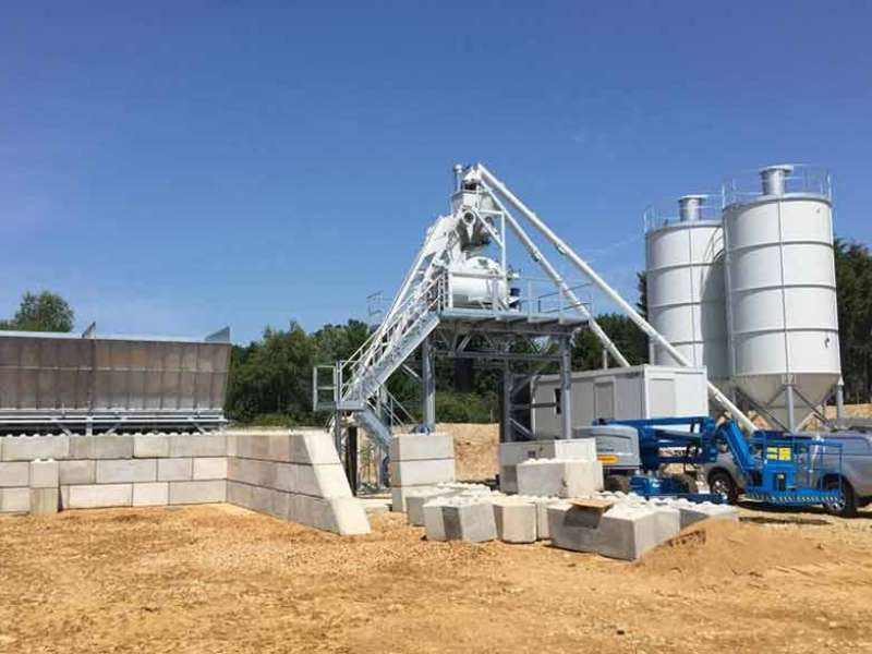 Eastern Concrete open concrete batching plant