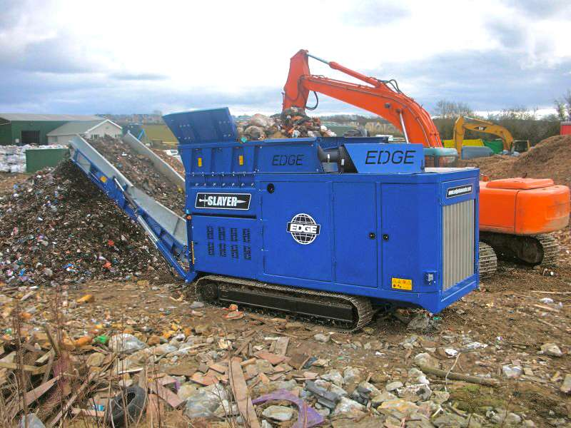 Slayer XL shredder machine