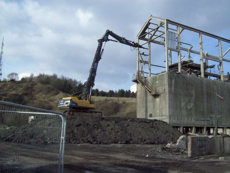 AR Demolition at Edwin Richards Quarry