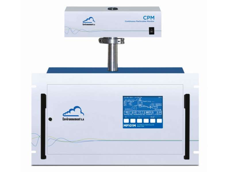 Continuous particulate monitor