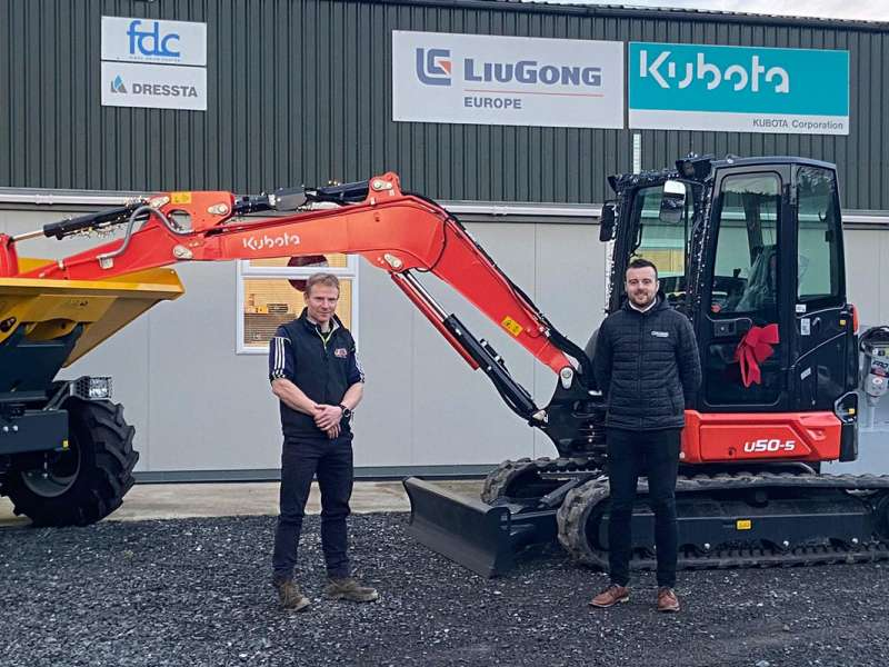 Frank Smyth, FJS Plant Repairs and Conor Grogan, EvoQuip