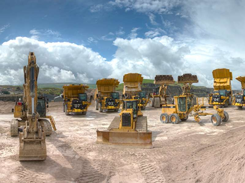Dove Holes deal for Finning and CEMEX