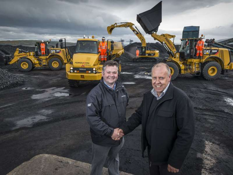 Finning sign deal with Fergusson Group