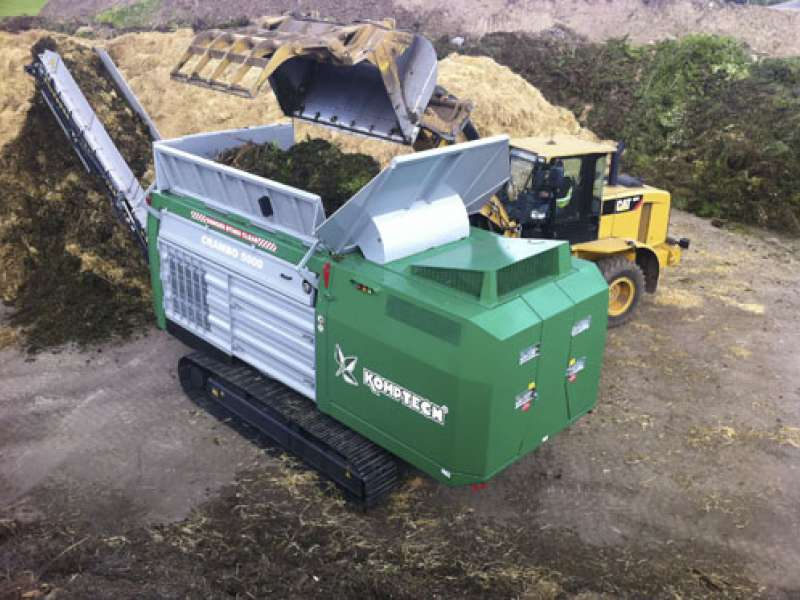 Komptech waste and recycling products