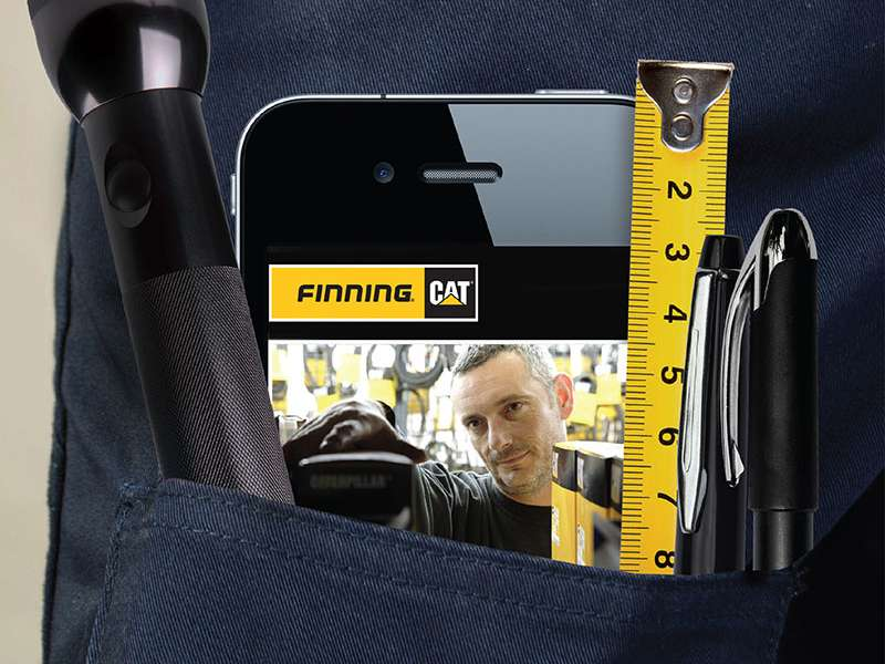 New parts website from Finning