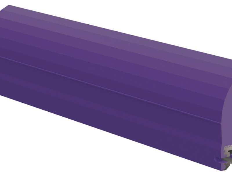 Conshear purple urethane belt cleaner blade