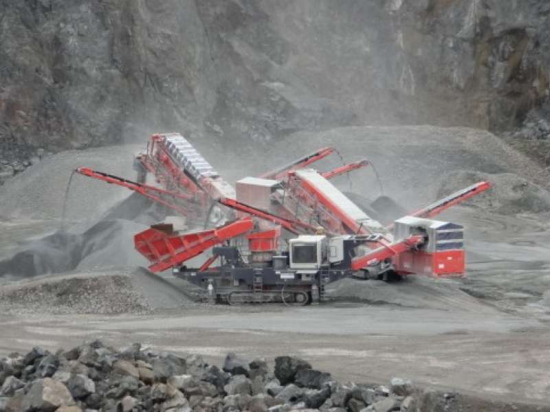 Sandvik crushing and screening equipment