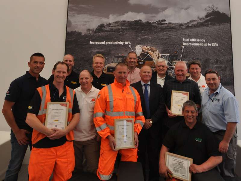 Gold card winners at Hillhead 2014